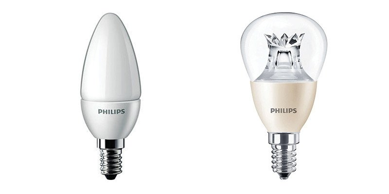 Philips LED Kaars en Kogel
