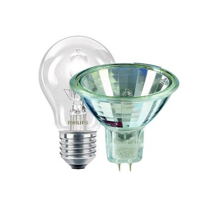Lichtbron conventioneel halogeenlampen
